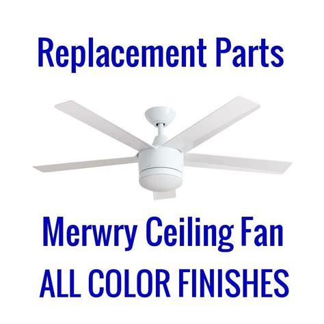 merwry ceiling fan remote home decorators collection merwry in led white ceiling fan