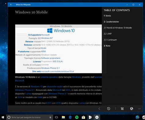 mobile app wiki le migliori app di per windows 10 e windows 10