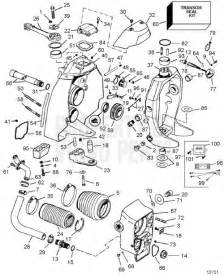 Volvo Sx Outdrive Manual Volvo Penta Exploded View Schematic Transom Shield Sx C