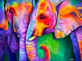 colorful elephant 1000 ideas about colorful elephant on cool