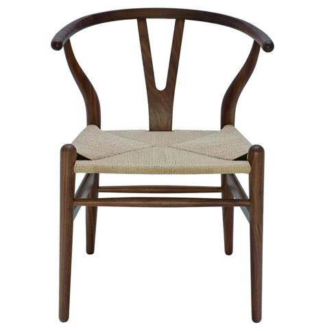 Modern Dining Arm Chairs Jace Ming Modern Global Bazaar Rattan American Walnut Dining Arm Chair Kathy Kuo Home
