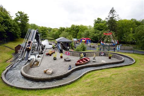 a themed this stately home has a hidden theme park in its back