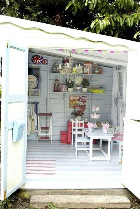 craft sheds craft shed shabby chic crafts and sheds on pinterest