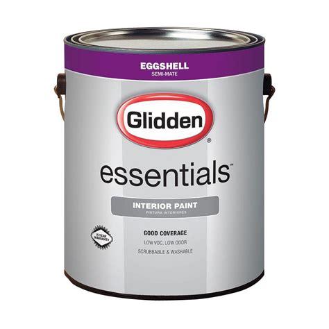 glidden premium 1 gal white eggshell interior paint