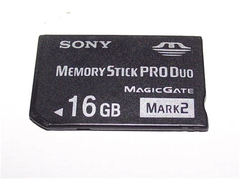 Memory Card Psp 16gb Sony 16gb Sony Psp Memory Stick Pro Duo 2 Memory Card
