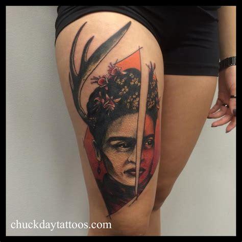 frida by chuck day tattoos