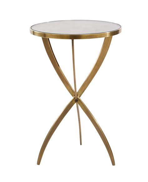 F207   Solid Brass Tripod Side Table