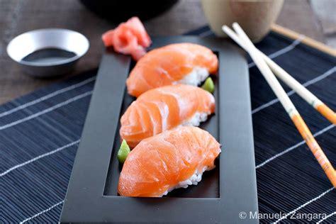 Salmon Sushi image gallery sake nigiri