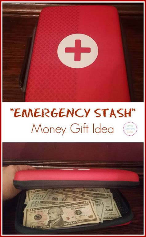 Can You Add Money To A Amazon Gift Card - emergency money gift cute creative money gift idea