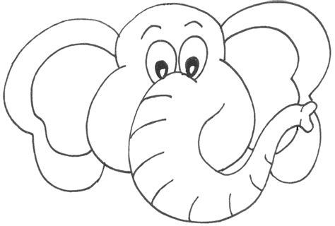 printable elephant mask template elmer and wilbur teaching ideas