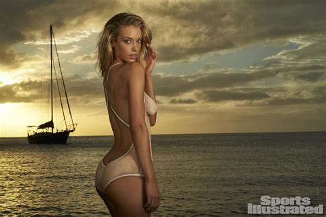 Hannah Ferguson Sports Illustrated 2014 Body Paint | hannah ferguson swimsuit body paint photos sports