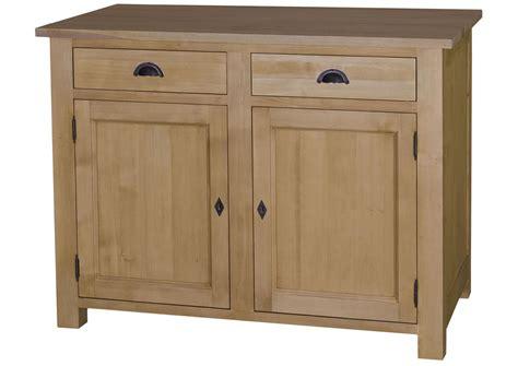 acheter buffet cuisine acheter votre buffet de cuisine en pin massif avec portes et tiroirs chez simeuble