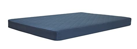 6 Quilted Bunk Bed Mattress by Dhp 6 Quot Quilted Top Bunk Bed Mattress Navy