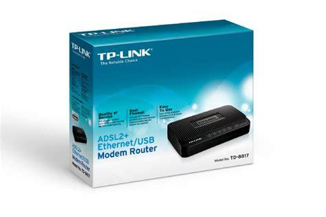 Modem Router Td 8817 tp link td 8817 adsl2 ethernet usb modem router td 8817 mwave au