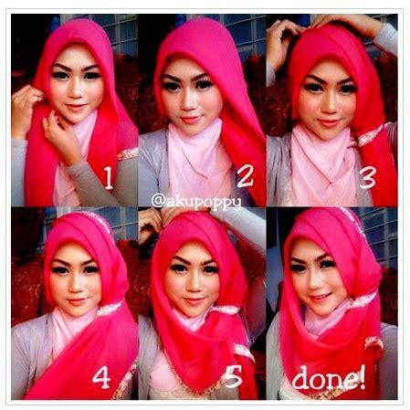 tutorial hijab remaja masa kini kreasi hijab modis trendy untuk remaja muslimah masa kini