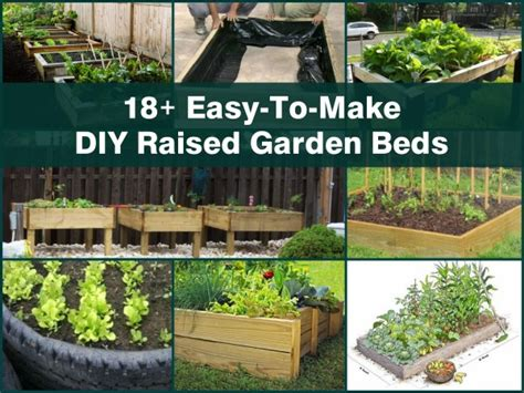 do it yourself raised garden beds 18 easy to make diy raised garden beds