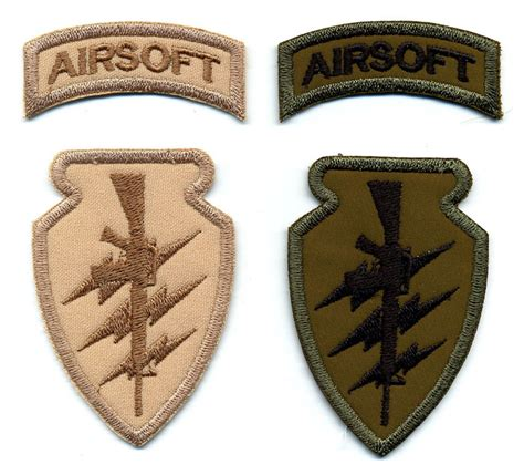 Black Tag White Patch Army Ready Stock custom embroidered patches best quality merrow border airsoft patches