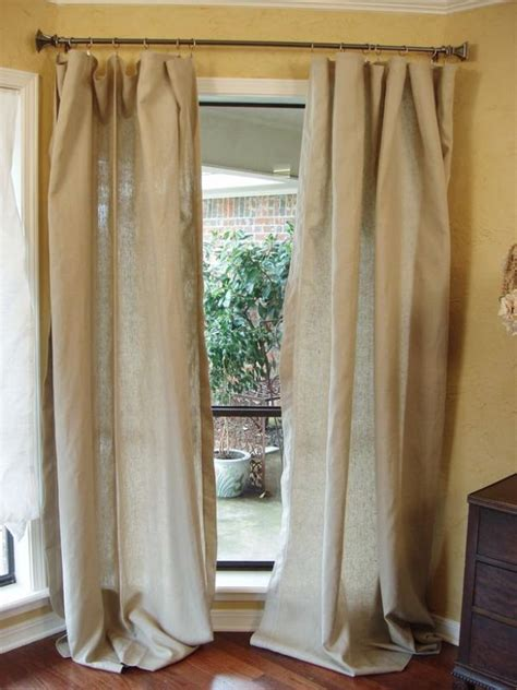 diy tablecloth curtains decoist