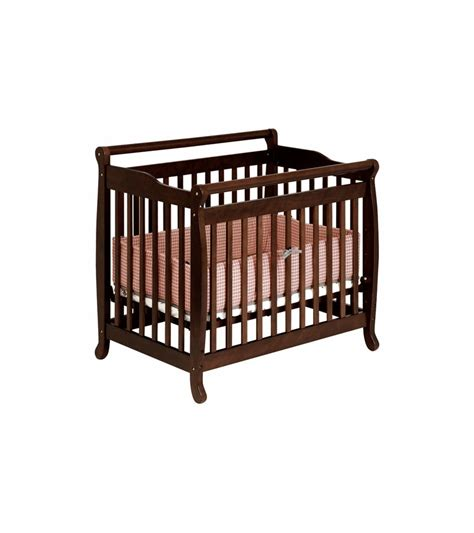 Davinci Emily Mini 2 In 1 Convertible Crib Espresso Espresso Mini Crib