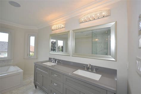 renovated bathroom what are some good basement lighting ideas the reno pros