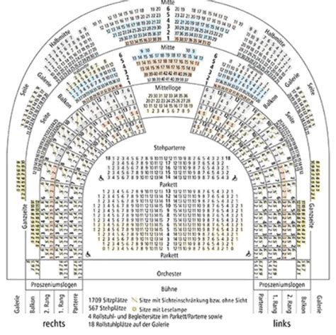 vienna opera house seating plan metropolitan opera house seating chart map of the main auditorium of