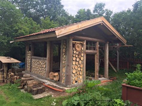 cordwood in sweden pelle henriksson s cordwood sauna