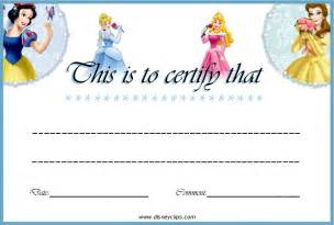 princess certificate template disney princesses heroines printables disney s world