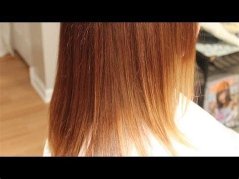 ombre hair technique blonde with red ends ombre hair color tutorial red with blonde ends beveling