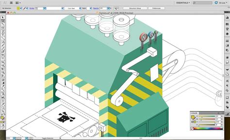 illustrator name tutorial adobe illustrator tutorial design an isometric
