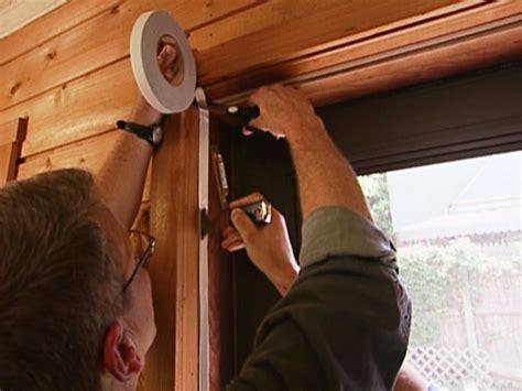 Seal Around Garage Door How To Weatherproof Doors How Tos Diy