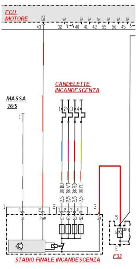 sostituzione candele smart schema elettrico schema elettrico preriscaldo candelette
