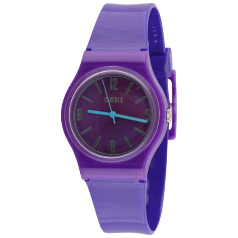 oasis s purple plastic clothing zavvi