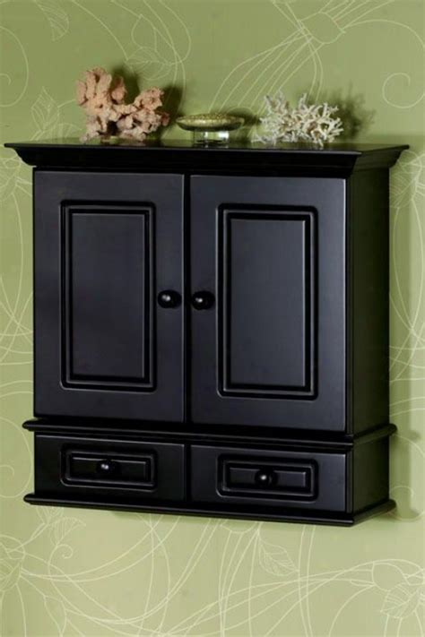 bathroom cabinet black black bathroom wall cabinet myideasbedroom