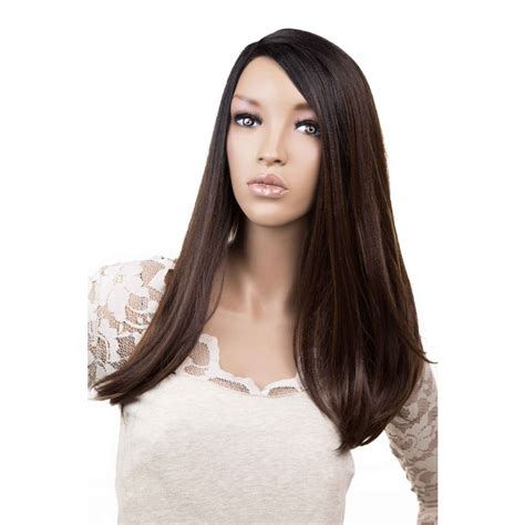 synthetic justice wig freetress equal deep invisible l part synthetic lace front