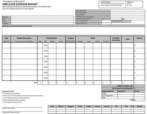 detailed expense report template monthly expense report template detailed expense report