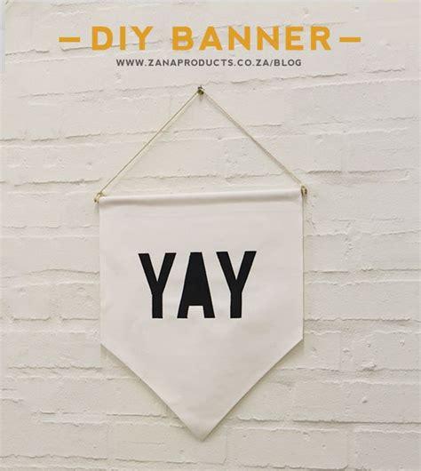 printable text banner diy fabric banner no sew and free printable yay text
