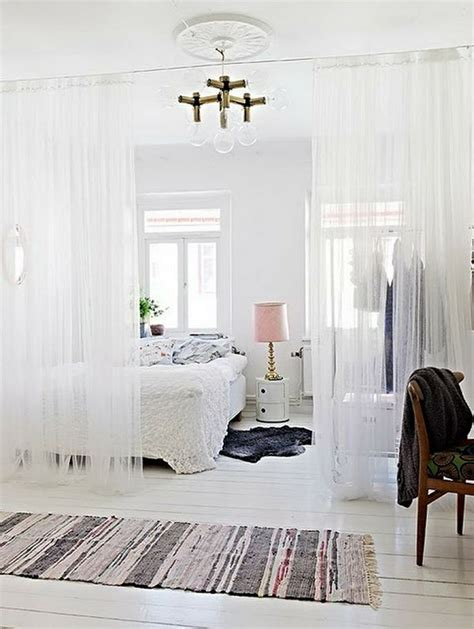 curtains to divide room interesting diy room dividers ideas decozilla