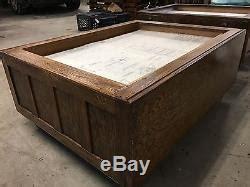 blueprint cabinet coffee table antique oak hamilton flat file map blueprint cabinet