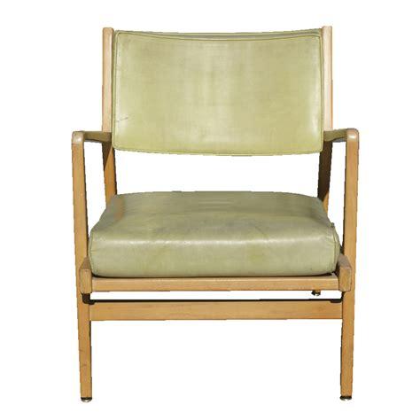 jens risom armchair metro retro furniture vintage jens risom wood lounge arm chair