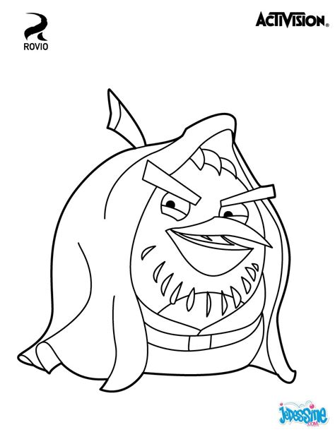 angry birds go karts coloring pages coloriages obi wan kenobi angry birds star wars fr