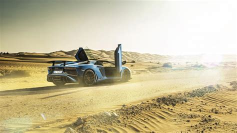 lamborghini aventador sv roadster top gear desert storm dubai in an aventador sv roadster top gear