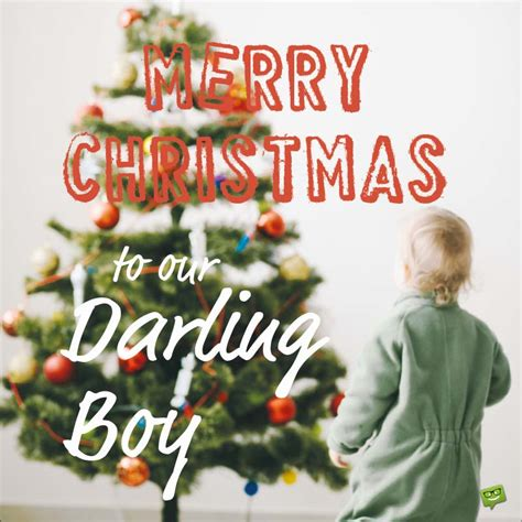 warm christmas wishes   son