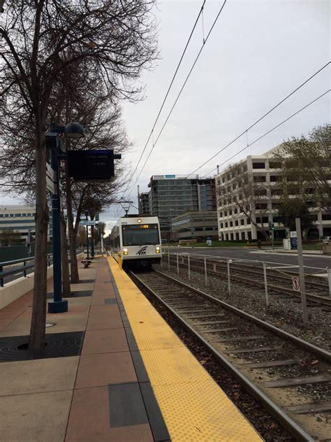 Light Rail To Airport by Vta Light Rail Metro Airport Station Stations San Jose San Jose Ca United
