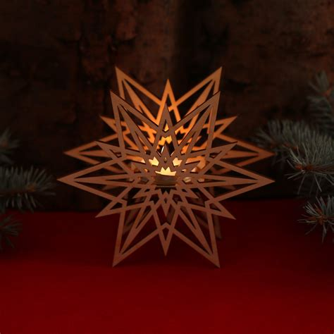 weihnachtliche kerzenhalter kerzenst 228 nder holz weihnachten bvrao