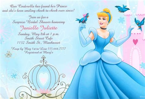 cinderella birthday card template 12 amazing cinderella invitation templates designs