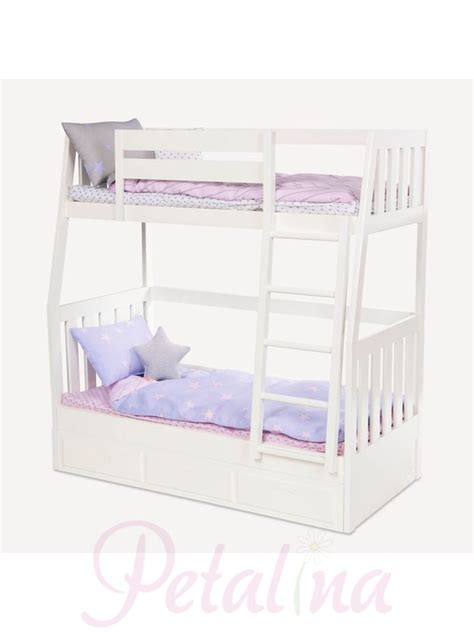 our generation doll house furniture our generation bunk bed our generation bunk beds from