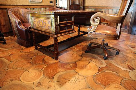 log floor 10 amazing wood floors that will knock your socks