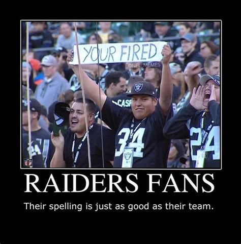 Funny Raiders Meme - 112 best nfl memes images on pinterest sports humor