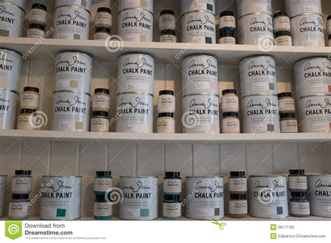 chalk paint united states chalk paint editorial photography image 38171762