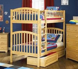 Loft Beds Richmond Va Dreamfurniture Richmond Bunk Bed In